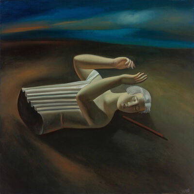 Afifa Aleiby, 'Trace', 2000