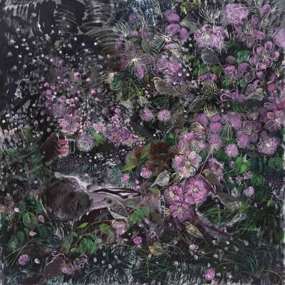 Shen Ling, 'Jealous Night in Flowery Wind No.1', 2017