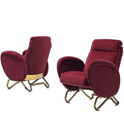 Carlo Mollino, 'Carlo Mollino Exclusive Reupholstered Theater Chairs', ca. 1951