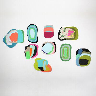"""Claudia Vivero, 'Instalación serie """"Superpuestos""""', 2014"""