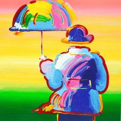 Peter Max, 'Umbrella Man on Blends', 2012