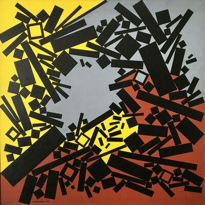 """José Pedro Costigliolo, '""""Rectángulos y cuadrados CCCXXXIII, 1975""""', 1975"""