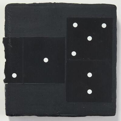 Donald Sultan, 'Domino, 10 November', 1990