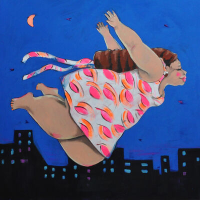 Esraa Zidan, 'I was born to fly I', 2019