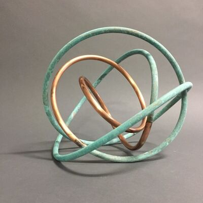 Mark Beattie, 'Copper in Verdigris Orb IX', 2017