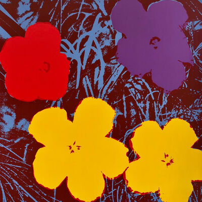 Andy Warhol, 'Flowers 11.71', 1967 printed later