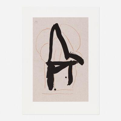Robert Motherwell, 'Beau Geste IV from the Beau Geste suite', 1989