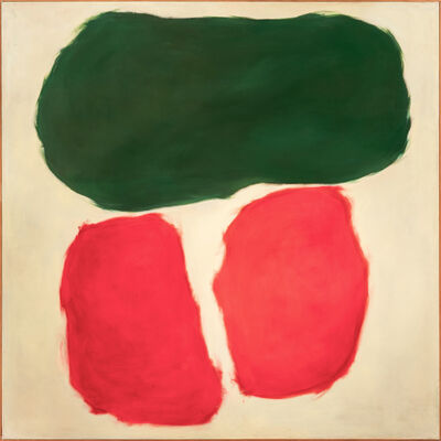 Ray Parker, 'Green and Red', 1960