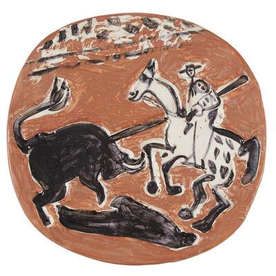 Pablo Picasso, 'Picador and Bull'