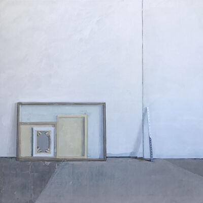 Jenny Brillhart, 'Brayer applied floor paint', 2018