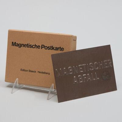 Joseph Beuys, 'Magnetic Postcard (Magnetische Postkarte)', 1975