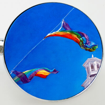 Edie Nadelhaft, 'P-Town Flags', 2018