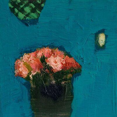 Jennifer Hornyak, 'Sunny Blue with Pink', 2017