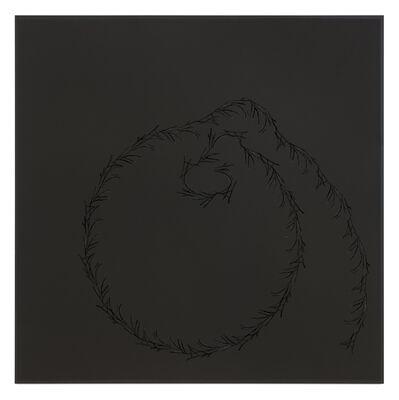 Anri Sala, 'Lines on Black (Afif, Sala, Flavien)', 2016