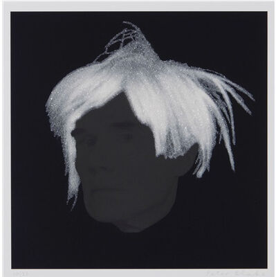 Peter Blake, 'Diamond Dust Warhol ', 2009