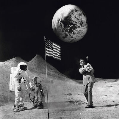 Terry O'Neill, 'Sean Connery on the Moon', 1971