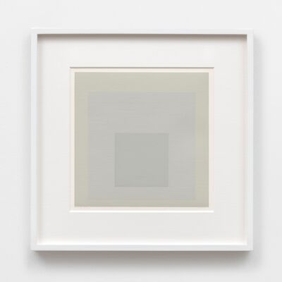 Josef Albers, 'Silent', 1965