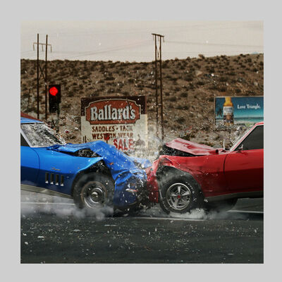 Miro Minarovych, 'Crash 3 Detail', 2009