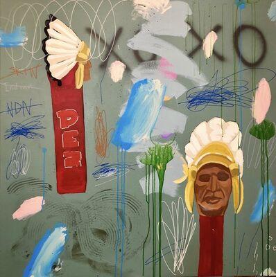 Frank Buffalo Hyde, 'EPOCHS - CHIEF/PEZERZATION', 2019
