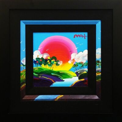 Peter Max, 'WITHOUT BORDERS', 2010