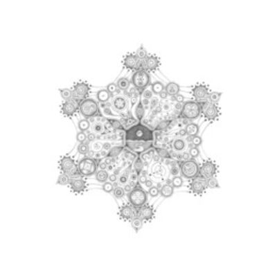 Michiyo Ihara, 'Get Ready for the Future, Snowflakes Series #89', 2010