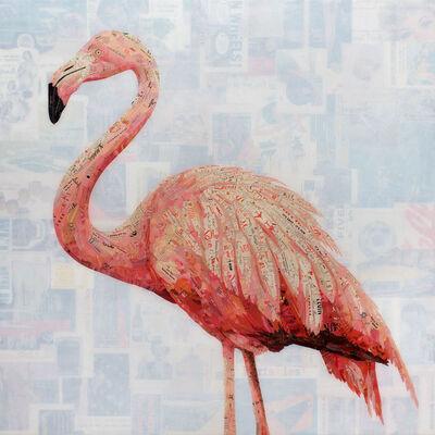 Jay Kelly, ''It's Easy (Pink Flamingo)'', 2020