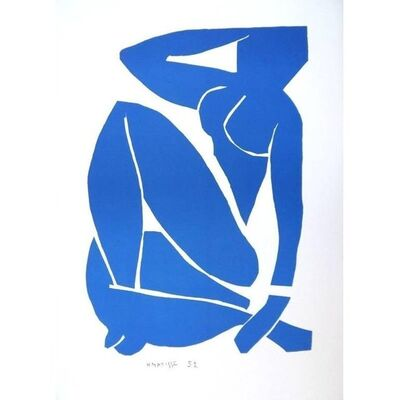 "Henri Matisse, 'Lithograph ""Sitting Blue Nude"" after Henri Matisse', 1952"