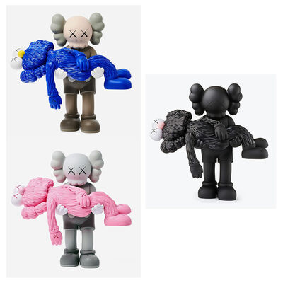 KAWS, 'KAWS GONE: Complete Set of 3 (KAWS companions)', 2019