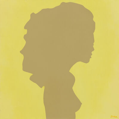 Daniel Kozeletckiy, 'Shadow of a young girl on yellow', 2019