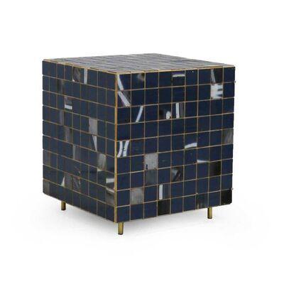 Piet Hein Eek, 'Blue & White Waste Tile Cube Cabinet', 2018