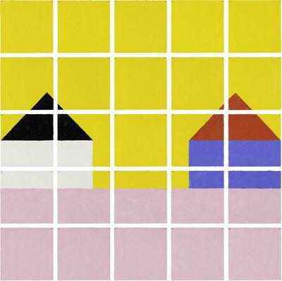 Jennifer Losch Bartlett, 'House: Pink Grass', 1998