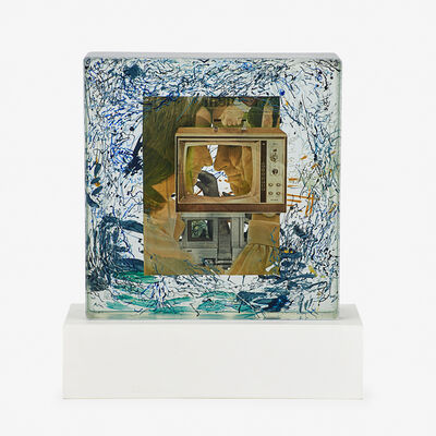 Dustin Yellin, 'Static White Couple', 2014