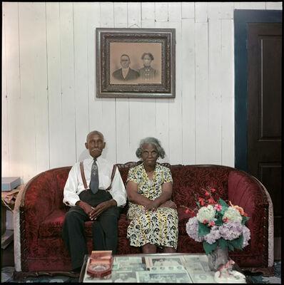 Gordon Parks, 'Mr. and Mrs. Albert Thornton, Mobile, Alabama', 1956