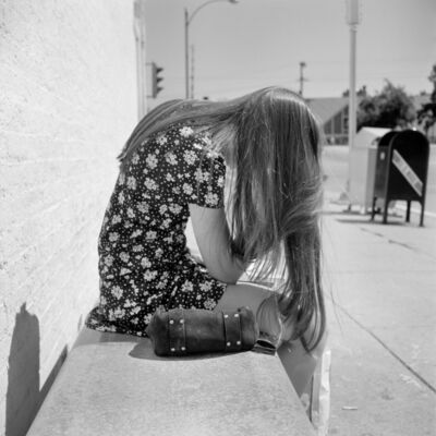 Vivian Maier, '0131536 – Untitled, 1971 Girl Reading', 2017
