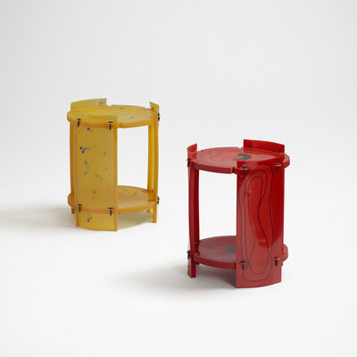 Gaetano Pesce, 'Nobody's Perfect tables, set of two', 2002-03