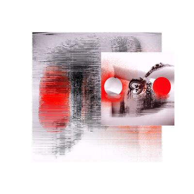 John Pomara, 'Blk Bra-Red'