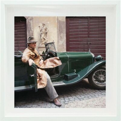 Horst P. Horst, 'Cy Twombly in Rome  - Untitled #25, Archival Pigment Print, Small size: Framed', 1966