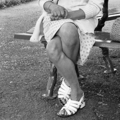 David Goldblatt, 'Woman on a bench, Joubert Park, Johannesburg', 1975