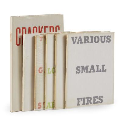 Ed Ruscha, 'Six Artist's Books'