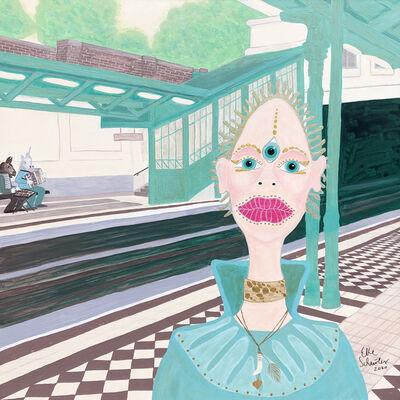 Elke Schmoelzer, 'Vienna Underground Station', 2020