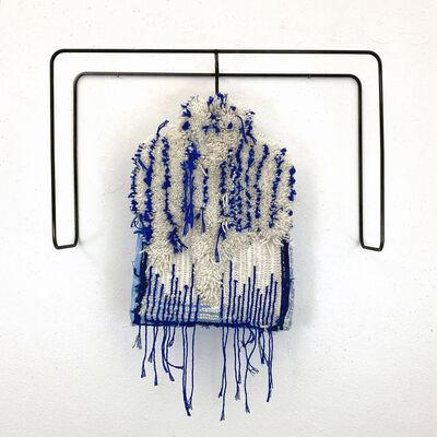 Judy Rushin-Knopf, 'Textile Sculpture on Steel frame: 'Mock Turtle'', 2021