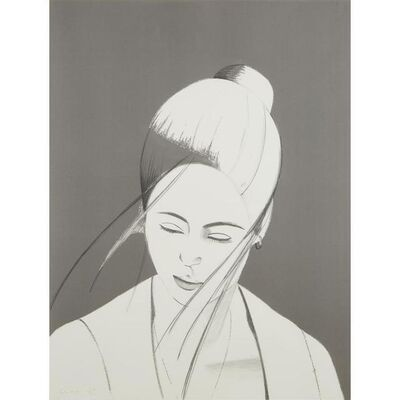 Alex Katz, 'Pamela (Pamela in Gray)', 1976