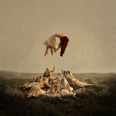 Brooke Shaden, 'Hidden #3: Praise',