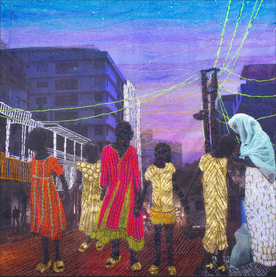 Joana Choumali, 'At least we have each other', 2020