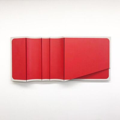 Robert William Moreland, 'Untitled Blunted Red Rectangle', 2020