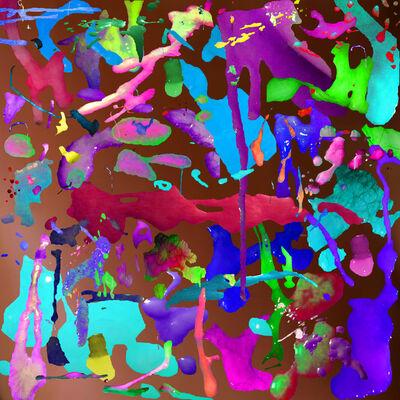 Faith Holland, 'Ookie Canvas 'Sub/emissions'', 2015