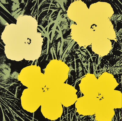 After Andy Warhol, 'Flowers'