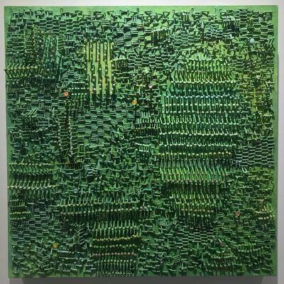 Darlene Charneco, 'Lichenweave (Becoming Lichenized)', 2016