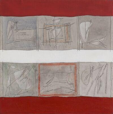 Achille Perilli, 'Indici dell'anomia', 1961