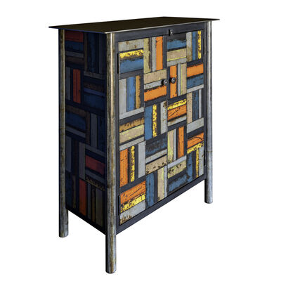 Jim Rose, 'Two Door Basket Weave Quilt Cupboard', 2019